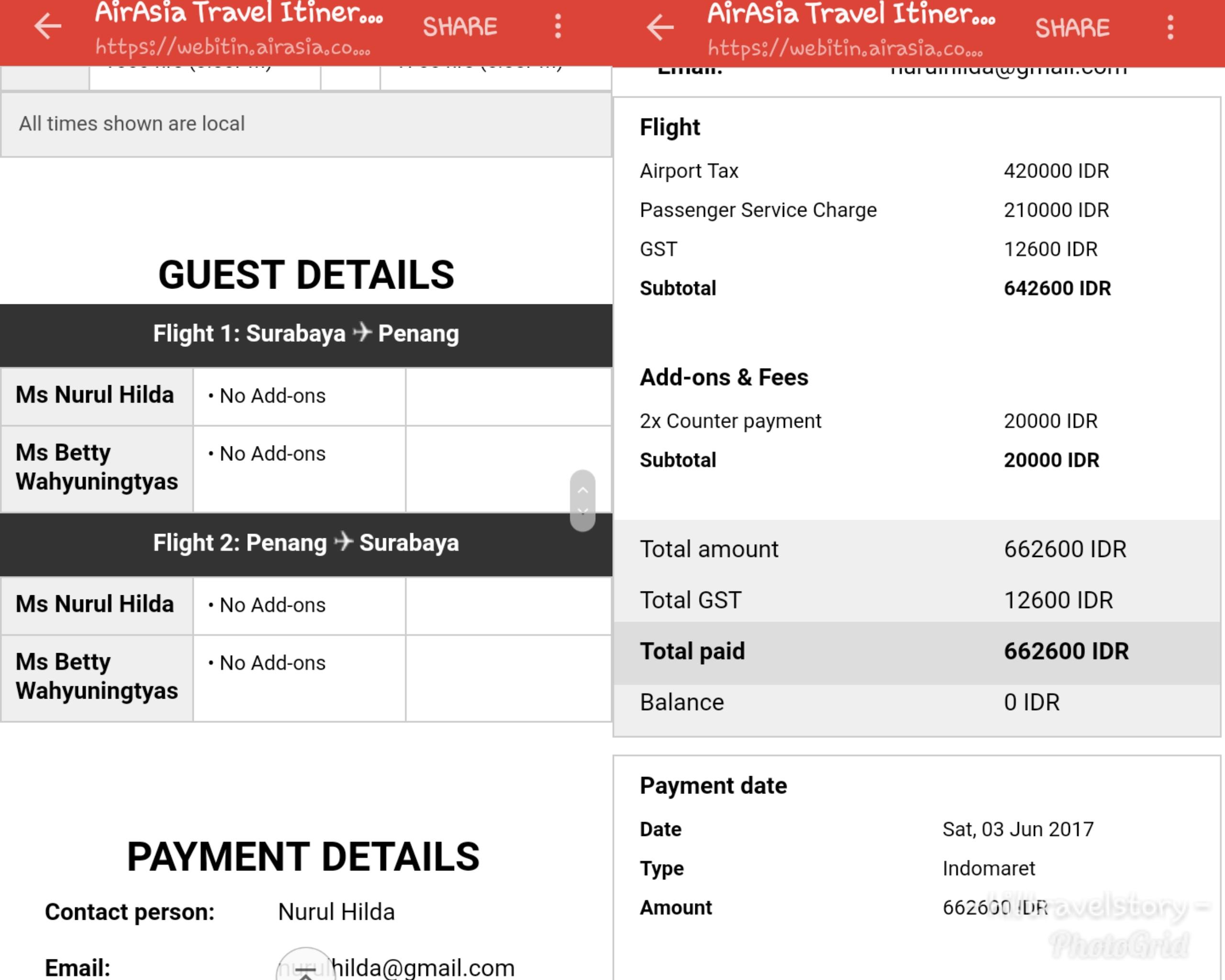 Hi Pengalaman Berburu Kursi Gratis Air Asia Travel Story Like Follow Instagram Semua Negara Tiket Pp Dari Surabaya Ke Penang Saya Issued Untuk 2 Seat Dapet Harga Rp 662000 Jadi Perorang 331000 Aja Murah Banget Kan Normalnya Bisa